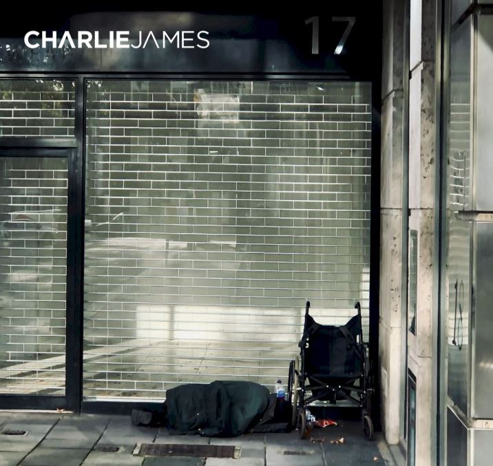 Labelled with life - Charlie James single cover